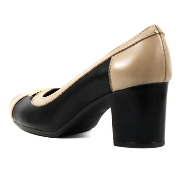Туфли женские Vakardi V119 темно-бежевая кожа