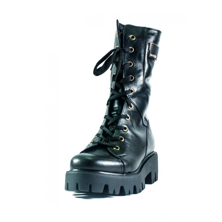 Ботинки зимние женские MIDA 24529-1Ш черные