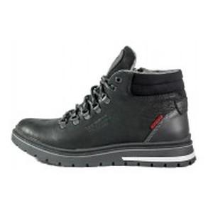 Ботинки зимние мужские Maxus Шарк ш чер тин черные