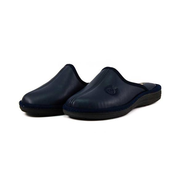 Тапочки комнатные мужские Spesita 17-191 темно-синие
