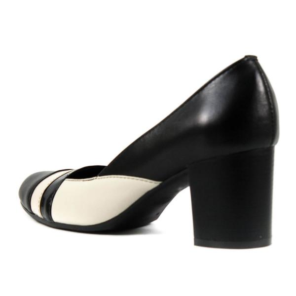 Туфли женские Vakardi V137 темно-бежевая кожа