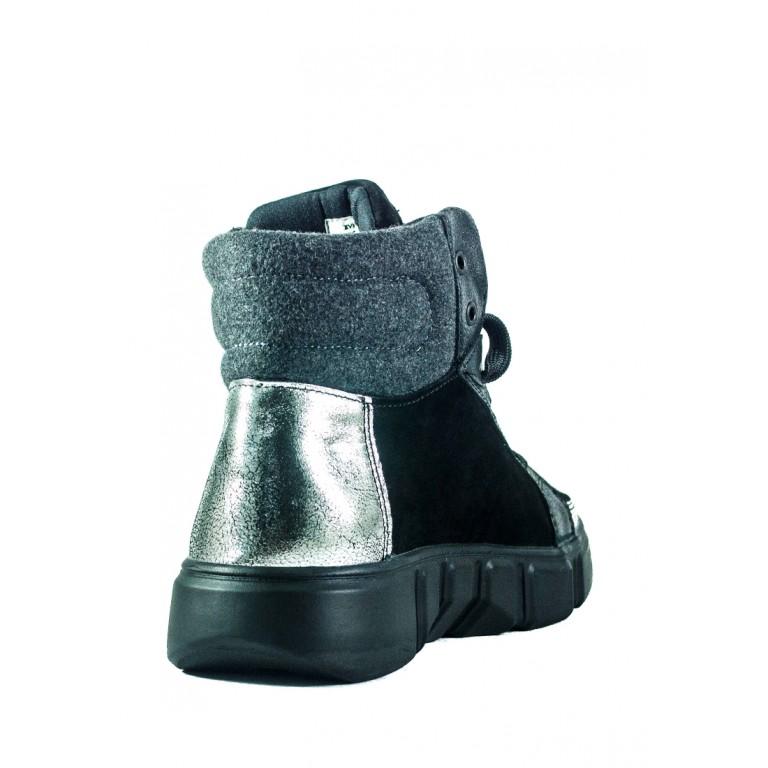 Ботинки демисезон женские MIDA 22467-9 черные