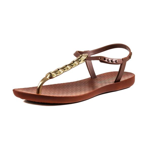 Босоножки женские Ipanema 82517-24735 коричнево-золотой