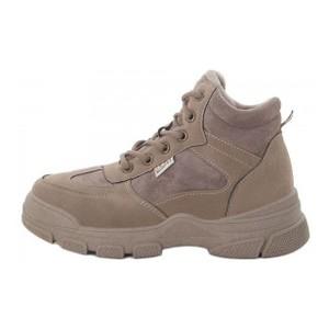Ботинки женские Optima MS 21838 коричневый