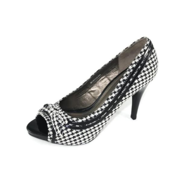 Туфли женские Queen  H11B151A-046-03 черно-белый