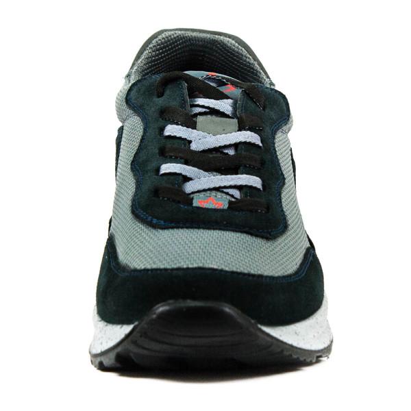 Кроссовки мужские MIDA 110672-490 зелено-серые