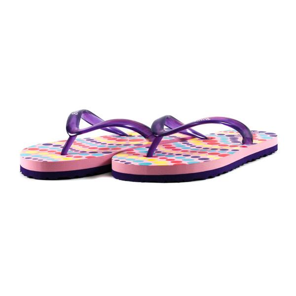Шлепанцы детские Bitis 8154-E розово-фиолетовые