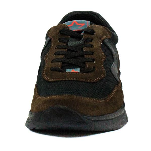 Кроссовки мужские MIDA 110633-457 черно-коричневые