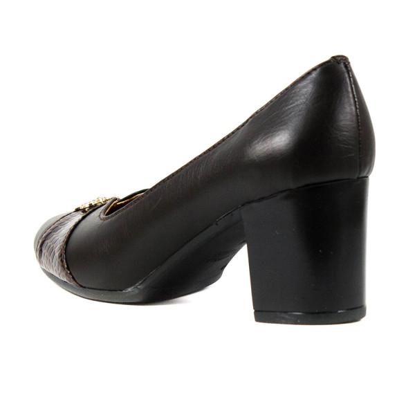 Туфли женские Vakardi V121 темно-коричневая кожа