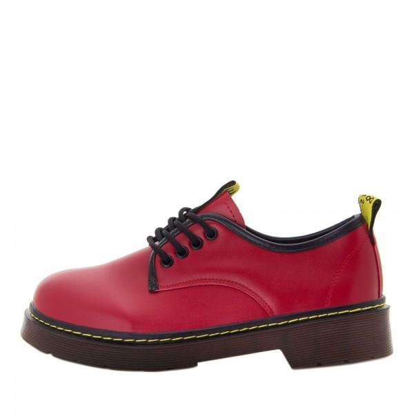 Туфли женские Erra MS 21860 красный