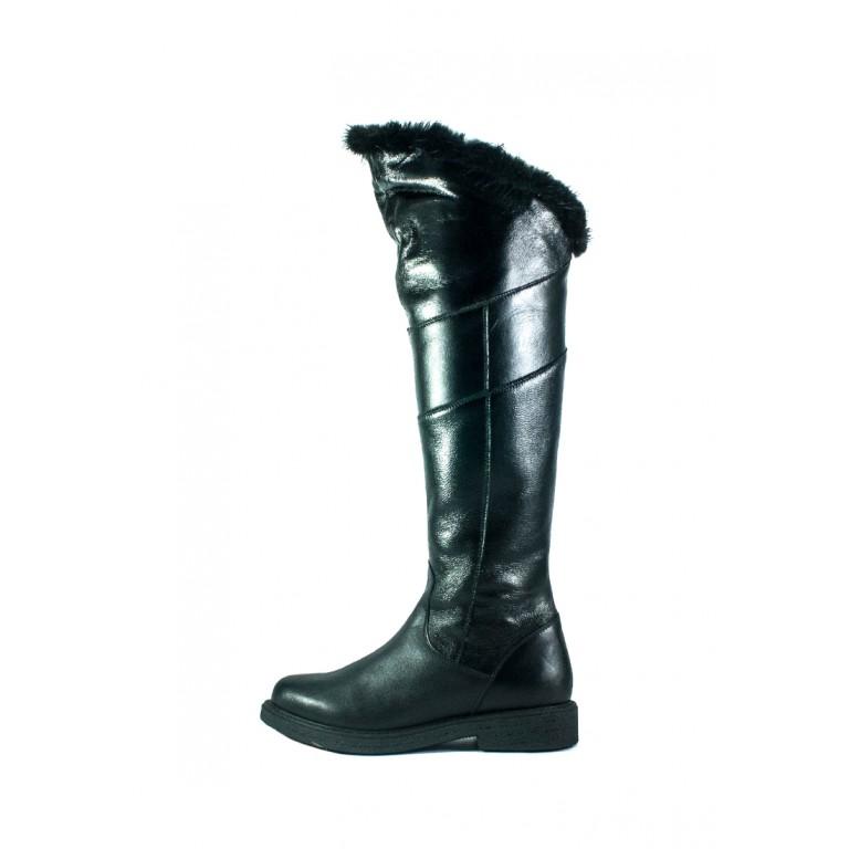 Сапоги зимние женские MIDA 24802-1Ш черные