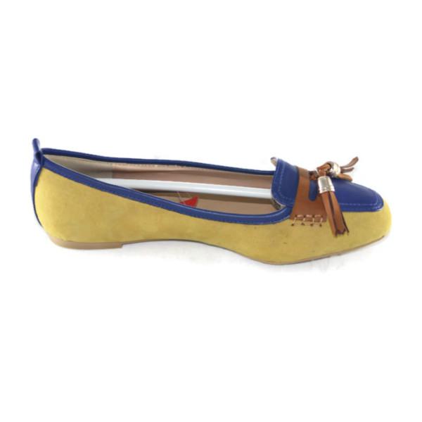 Балетки женские Jose amorales 301158 желто-синий