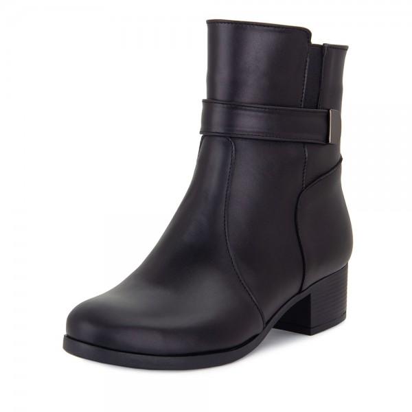 Ботинки женские Tomfrie MS 21482 черный