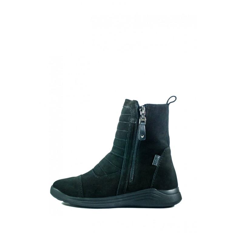 Ботинки зимние женские MIDA 24673-9Ш черные