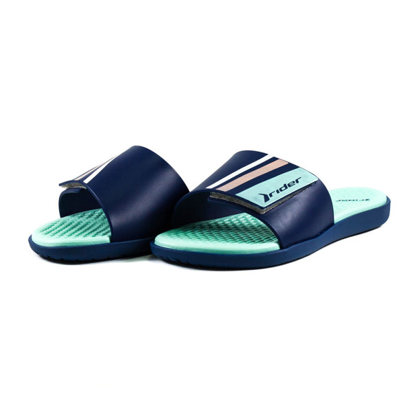 Шлепанцы женские Rider 82569-23563 бирюзово-голубые