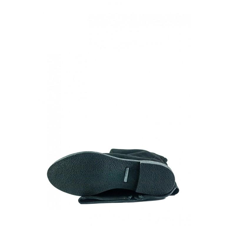 Сапоги демисезонные женские MIDA 22359-17 черные