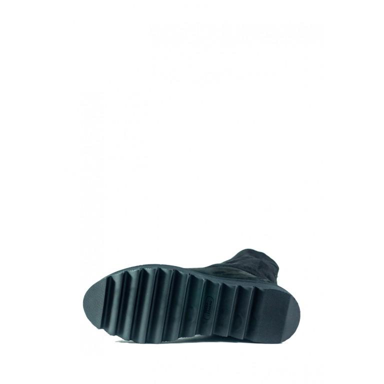 Ботинки зимние женские MIDA 24644-9Н черные