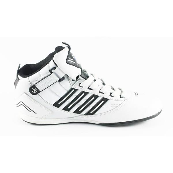 Кроссовки мужские Restime PM1075-B бело-черный