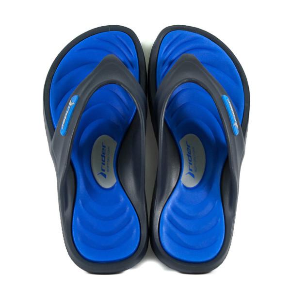 Шлепанцы мужские Rider 82564-20729 сине-черные