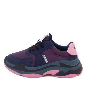 Сникерсы женские Standart MS 21524 фиолетовый