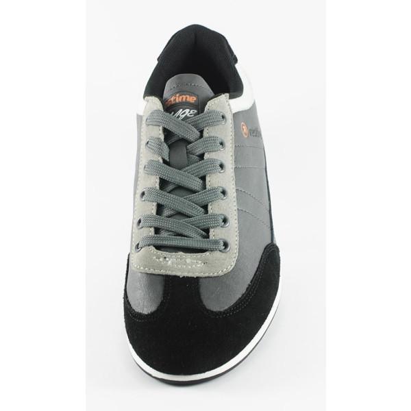 Кроссовки мужские Restime WMO13087 серый+ черный