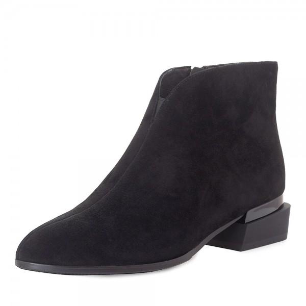 Ботинки женские Tomfrie MS 21917 черный