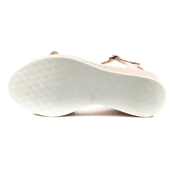 Босоножки женские Azatti 503 розово-белые