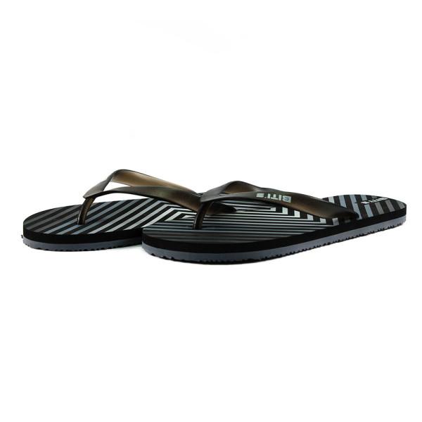 Шлепанцы мужские Bitis 8182-Е серо-черные