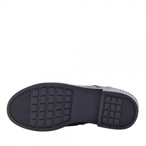 Туфли для девочек Optima MS 21560 черный