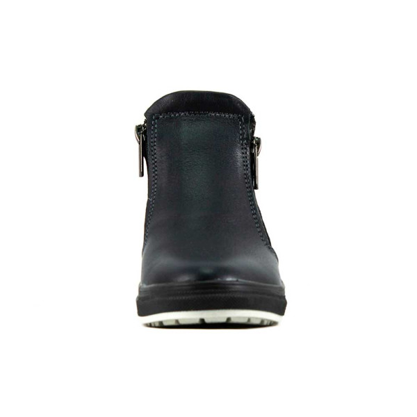 Ботинки зимние подросток Maxus Maxus РК 2-д темно-синяя кожа
