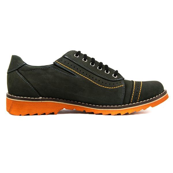 Туфли мужские MIDA 11049-13 темно-серые