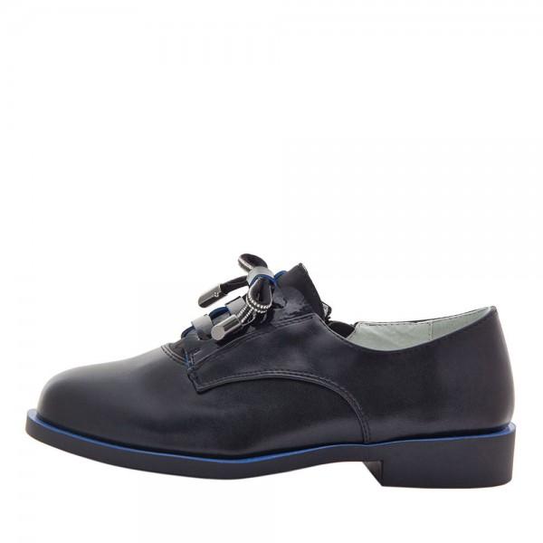 Туфли для девочек Optima MS 21561 черный
