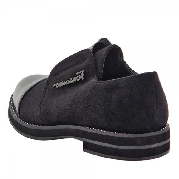 Туфли для девочек Optima MS 21562 черный