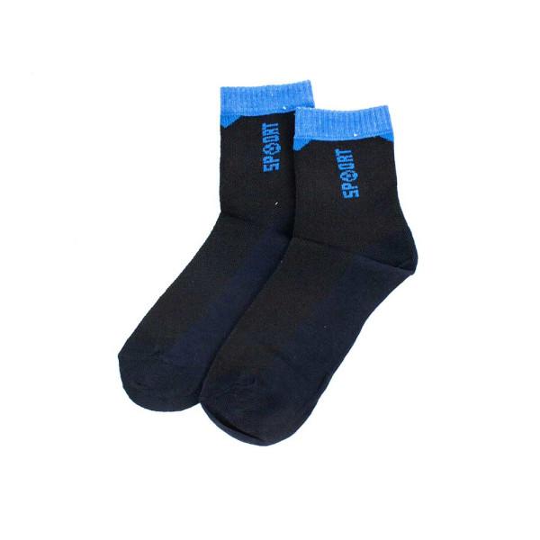 Носки детские BFL WC245W черно-синие 32-35