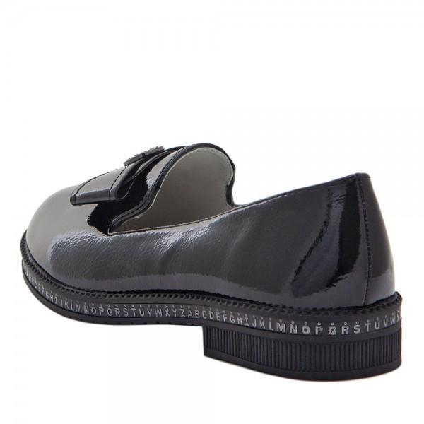 Туфли для девочек Optima MS 21575 черный