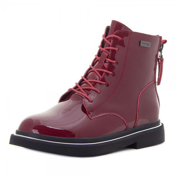 Ботинки женские Tomfrie MS 21666 красный
