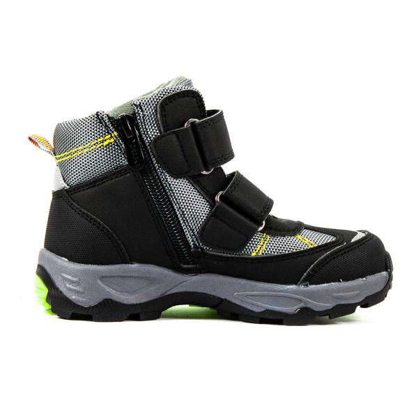 Ботинки детские Сказка R109135701 черноо-серые