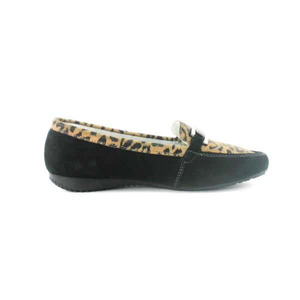 Мокасины женские GARINI 58055-1 черные
