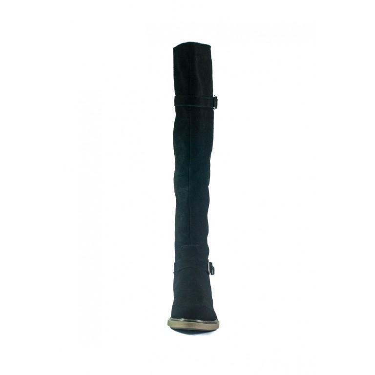 Сапоги демисезонные женские MIDA 22337-17 черные