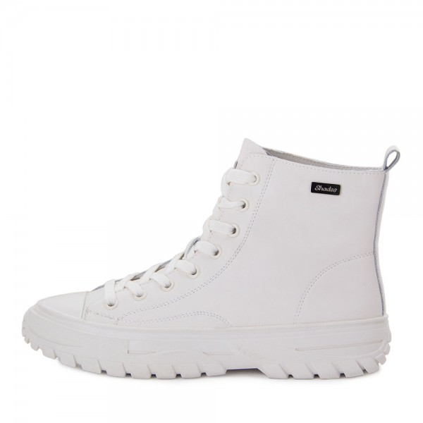 Ботинки женские Tomfrie MS 21699 белый