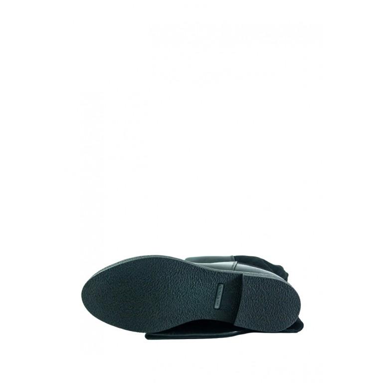 Сапоги демисезонные женские MIDA 22384-161 черный