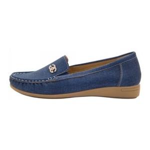 Мокасины женские Optima MS 21595 синий