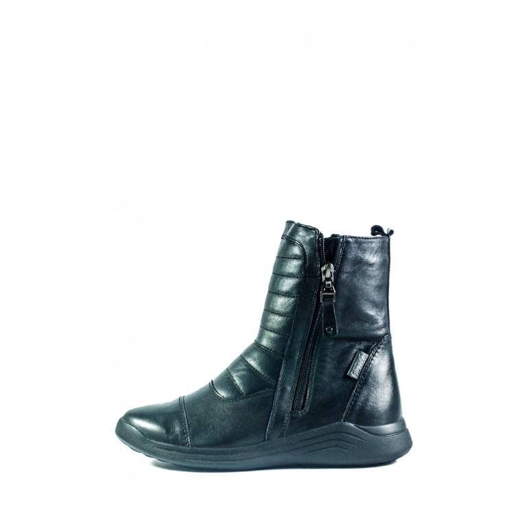 Ботинки зимние женские MIDA 24673-1Ш черные