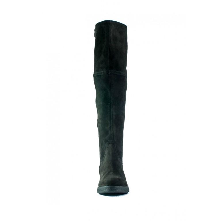 Сапоги демисезонные женские MIDA 22290-612 темно-коричневые