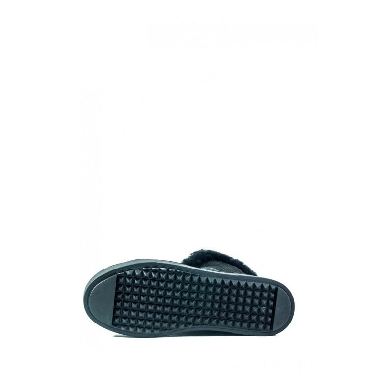 Ботинки зимние женские MIDA 24738-52Н черные