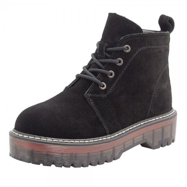 Ботинки женские Optima MS 21622 черный