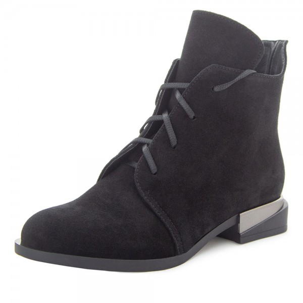 Ботинки женские Milli Gold MS 21629 черный