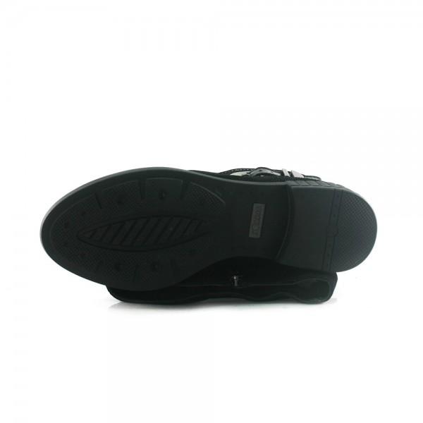 Сапоги зимние женские SND SDZ41910-35-10 черные