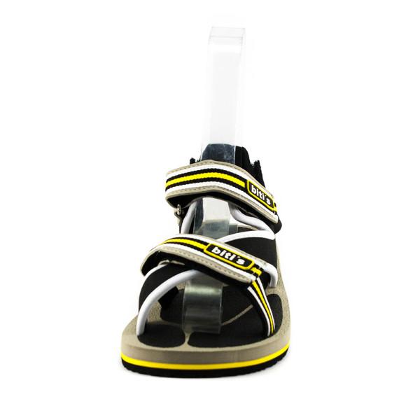 Сандали подростковые Bitis BTS-15961 серо-желтые