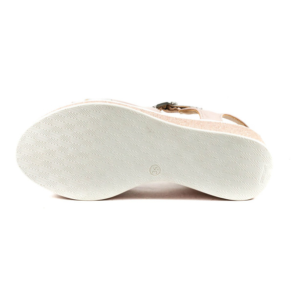 Босоножки женские Azatti 551 розово-белый
